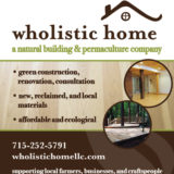 Wholistic Home Solutions Ad 2014