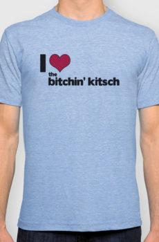 The Bitchin' Kitsch Blue Tee