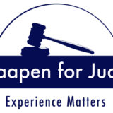 Knaapen for Judge Arc Logo