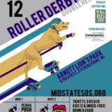 Mid-State Sisters of Skate Bout Poster