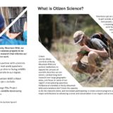 Citizen Science Projects Brochure Inside