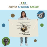 Super Species Squad Illustration - Gunnison Sage-Grouse