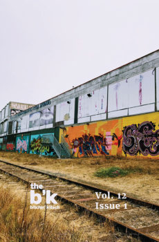 The B'K Volume 12 Issue 1 Cover