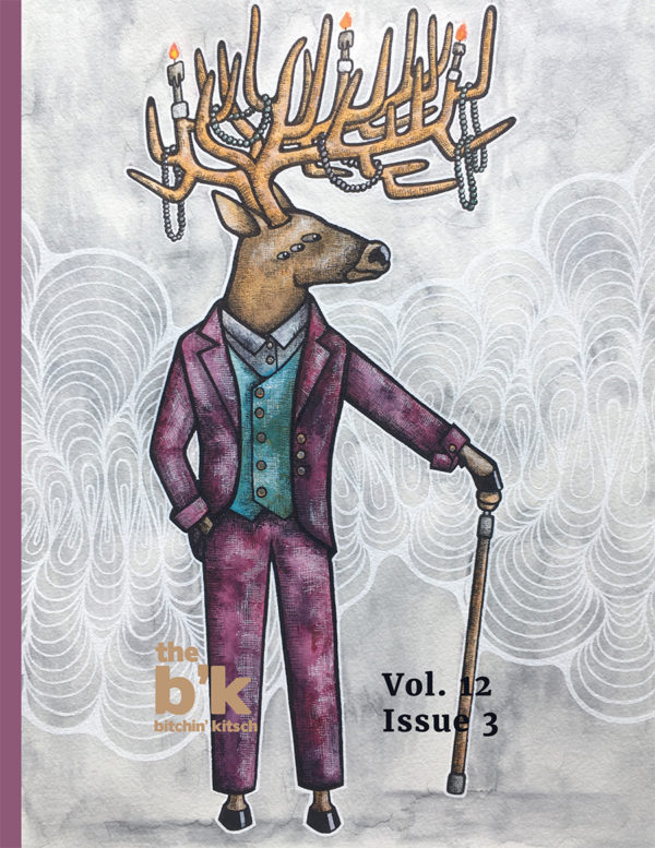 The B'K Summer 2021 Issue cover, featuring artwork by Emily Schanowski
