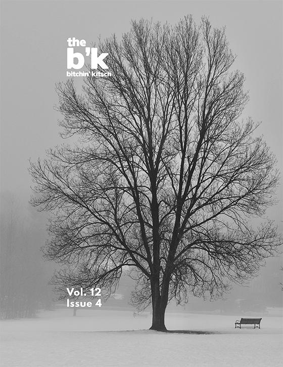 The B'K Volume 12, Issue 4 Cover Art